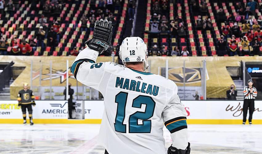 Sharks' Marleau breaks Howe's NHL games played record