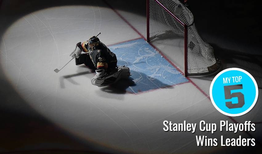 My Top 5 | Stanley Cup Playoffs Wins Leaders