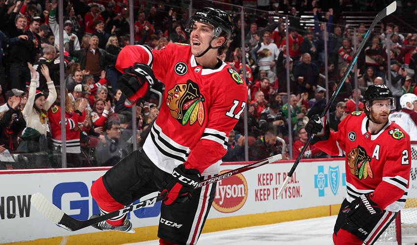 Out of the Desert: Strome excelling with Blackhawks following trade from Coyotes