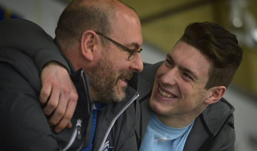 Dubois father-son relationship navigates two leagues