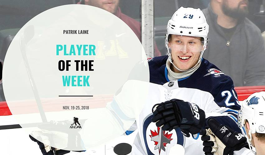 Player of the Week | Patrik Laine