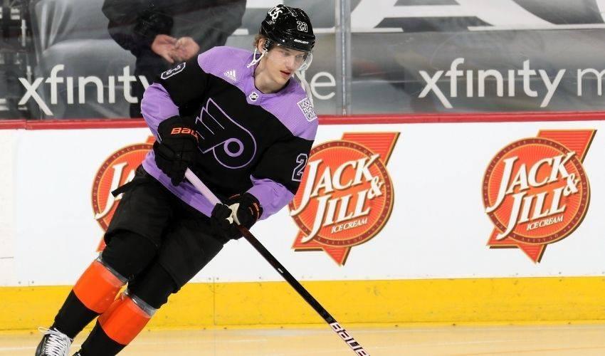 Flyers' Oskar Lindblom wins Masterton Trophy