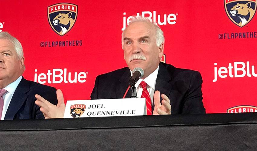 Panthers move fast, hire Joel Quenneville as next coach