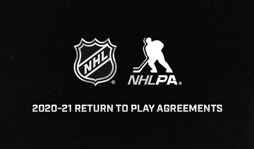 NHLPA, NHL announce 2020-21 medical protocols, transition rules and approval of a change to NHL Rule 83