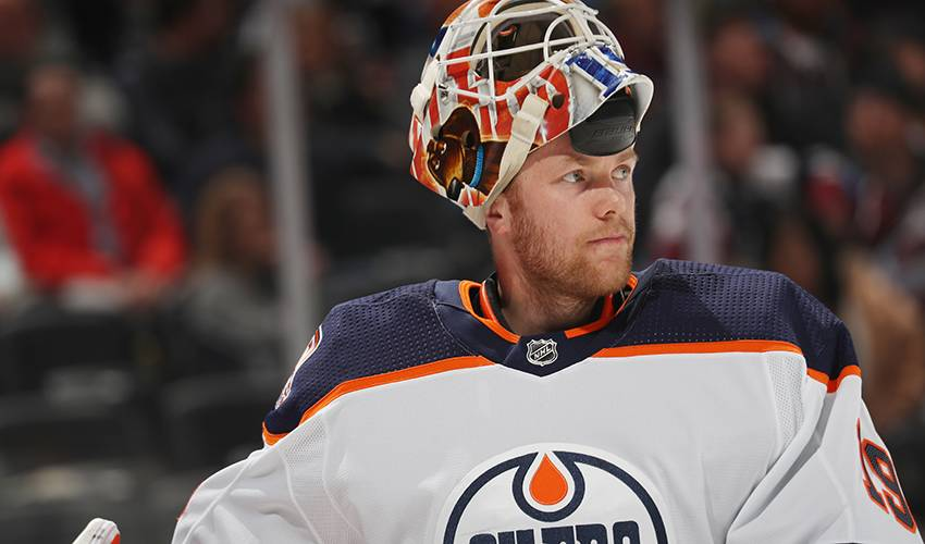 Oilers goalie Mikko Koskinen excelling in return to NHL after time in Europe