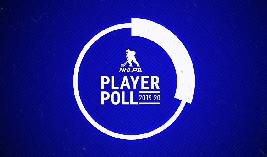 2019-20 NHLPA Player Poll results to be revealed March 31
