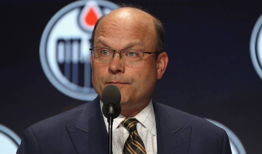 Edmonton Oilers fire GM Peter Chiarelli, put onus on players to salvage season