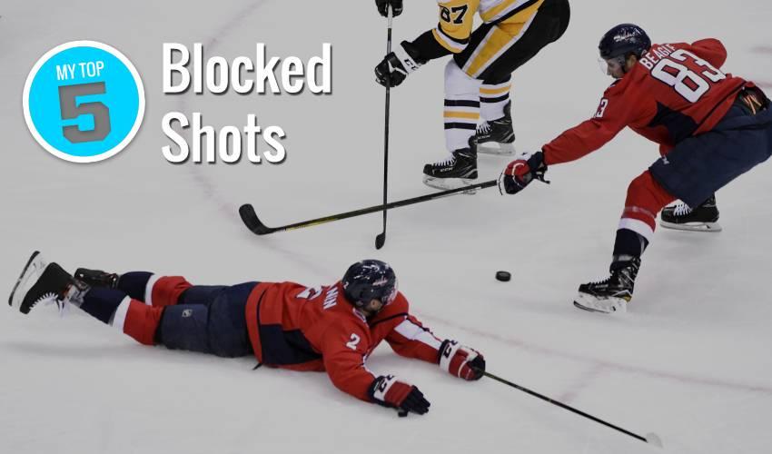 My Top 5 | Blocked Shots