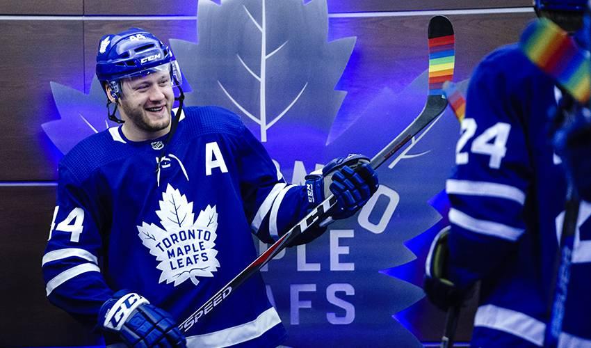 new styles 90b1f aed90 NHL says Leafs defenceman Morgan Rielly didn't utter ...