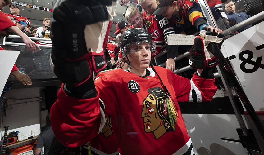 Kane on Ted Lindsay Award: 'I think it's cooler than the Hart'