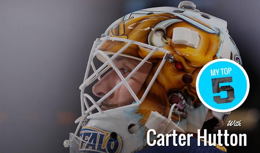 My Top 5 | Carter Hutton