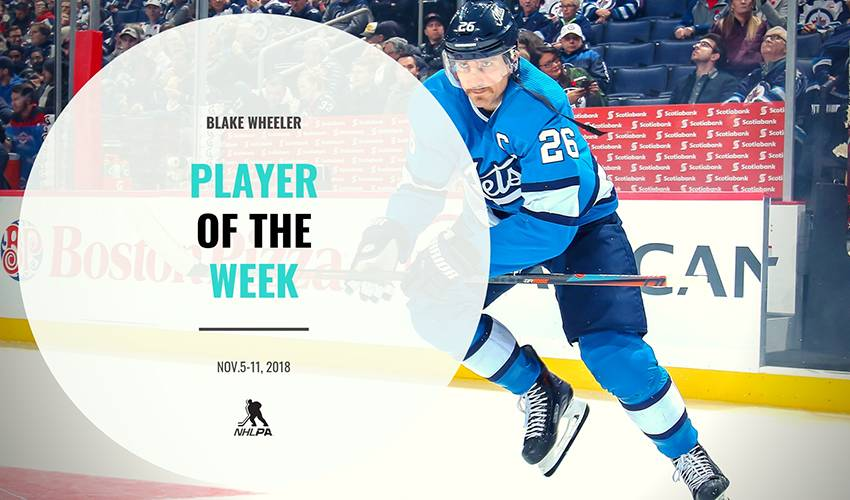Player of the Week | Blake Wheeler
