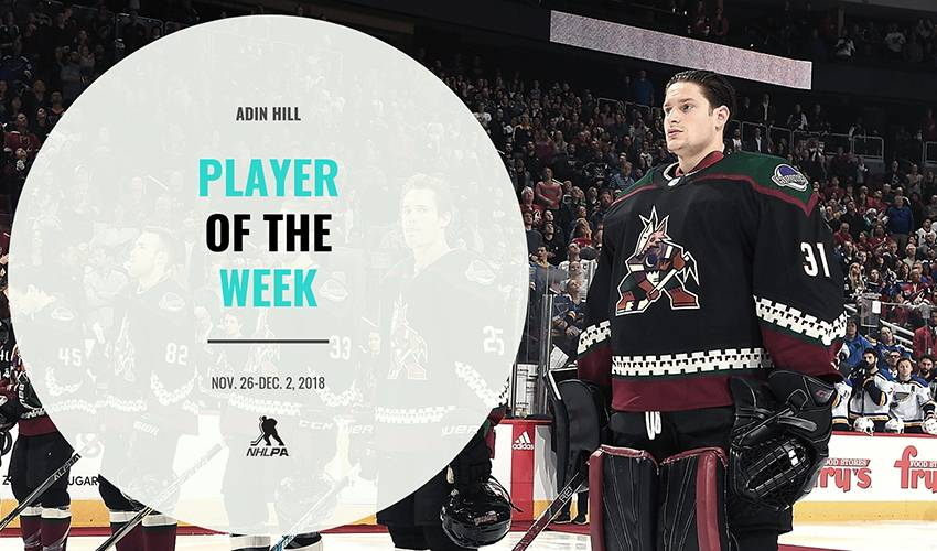 Player of the Week | Adin Hill