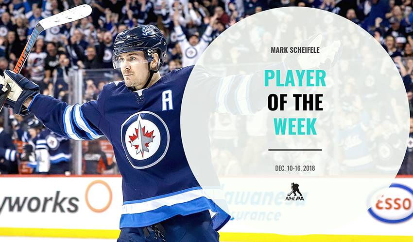 Player of the Week | Mark Scheifele