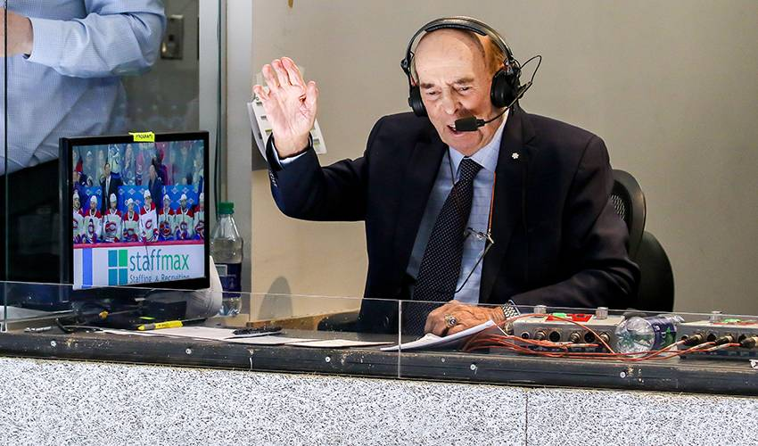 NHLers reflect on the career of legendary announcer Bob Cole ahead of final game
