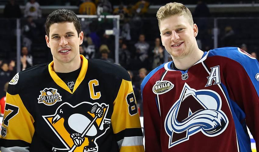 Mackinnon's Hockey Idol Turned Close Friend