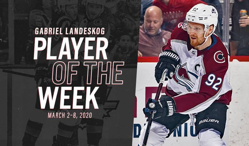 Player of the Week | Gabriel Landeskog