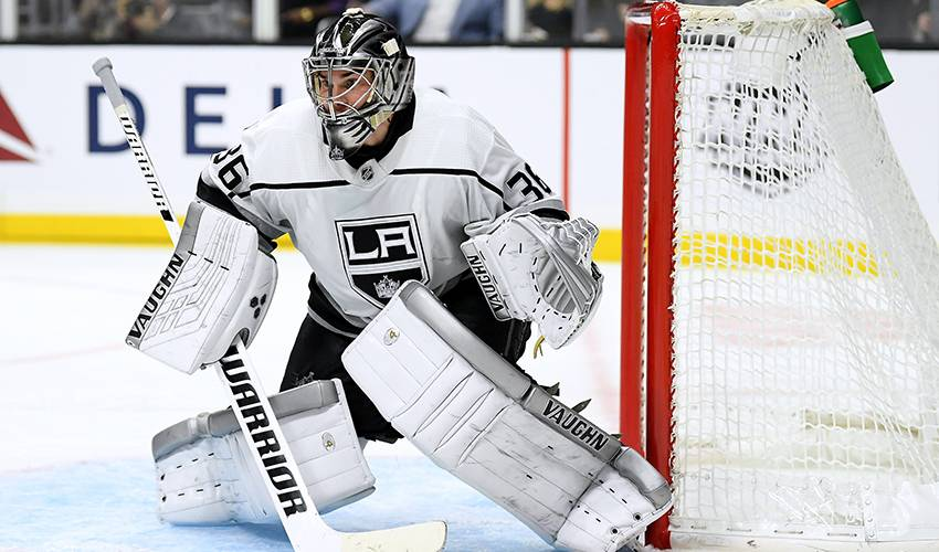 huge selection of 58005 94745 LA Kings goalie Jack Campbell out 4-6 weeks with knee injury ...