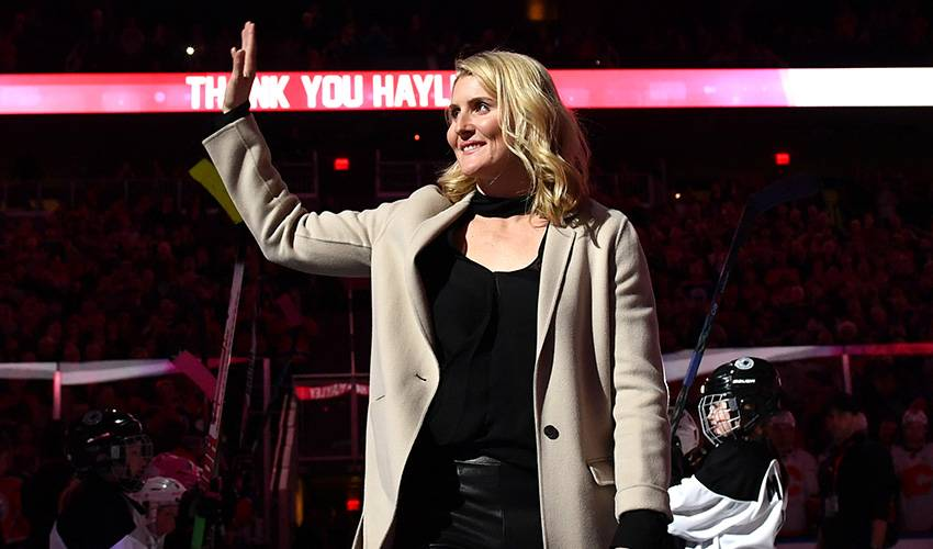 Wickenheiser's female hockey festival getting boost from NHL, NHLPA