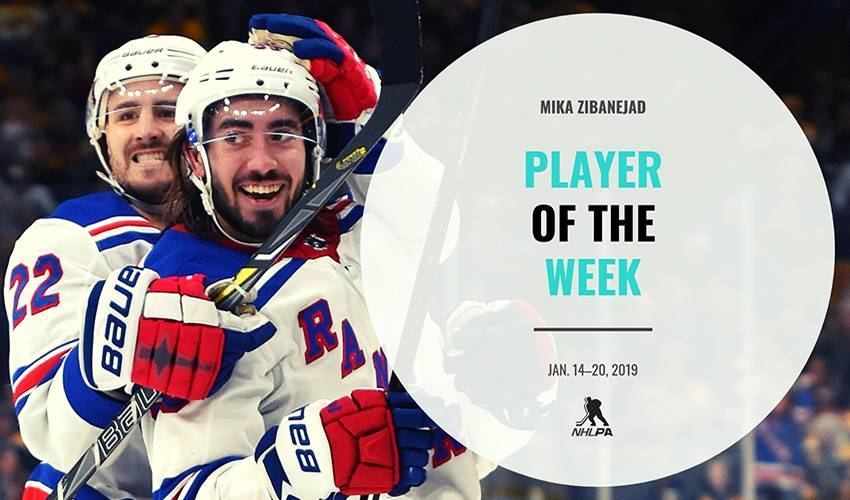 Player of the Week | Mika Zibanejad