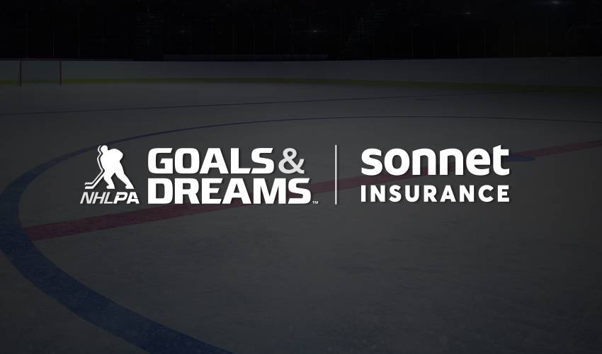 NHLPA Goals & Dreams and Sonnet Insurance Partner to Support Youth Hockey
