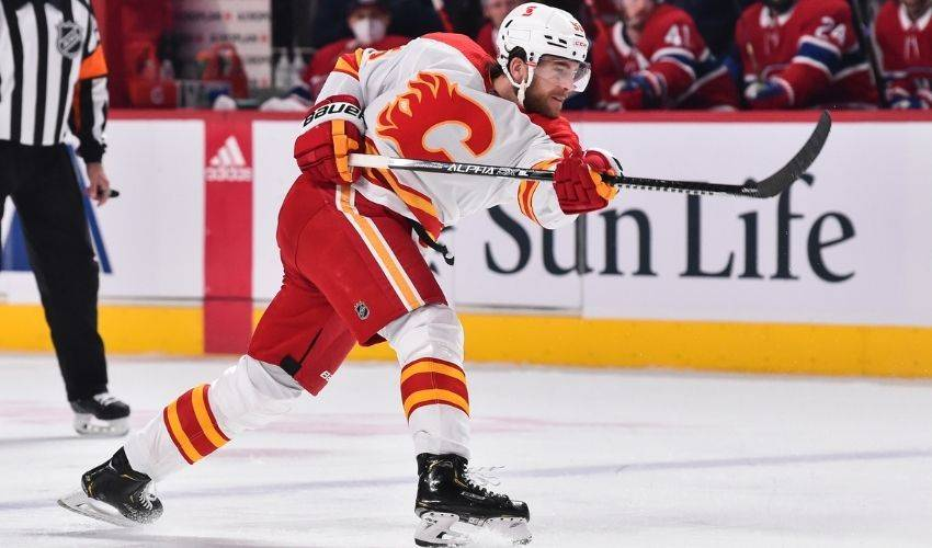 Calgary Flames defenceman Noah Hanifin out for the season with shoulder injury