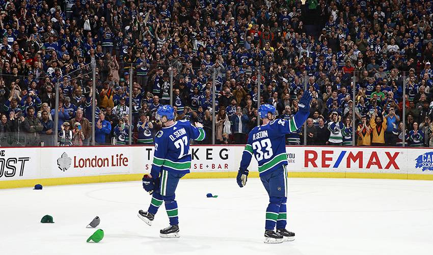 Perfect Goodbye: Daniel Sedin overtime hero in final game in Vancouver