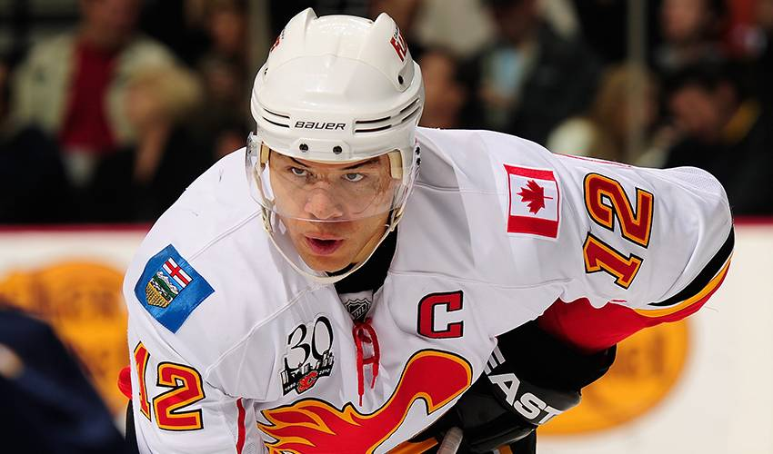 Jarome Iginla retires leaving Flames legacy behind him