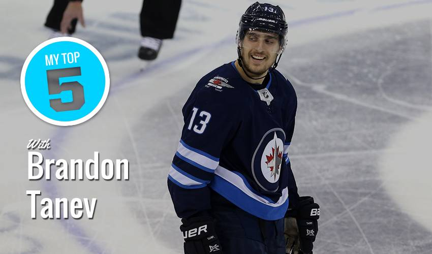 My Top 5 | Brandon Tanev