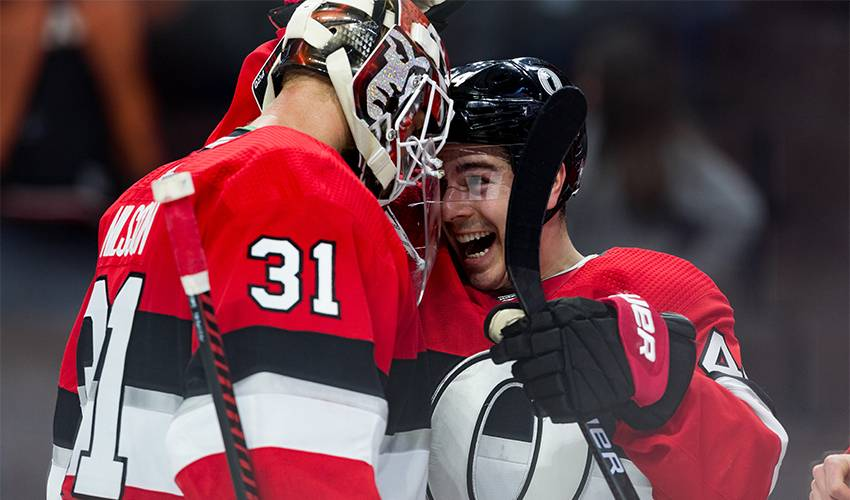 Pageau continues to thrive for hometown Sens