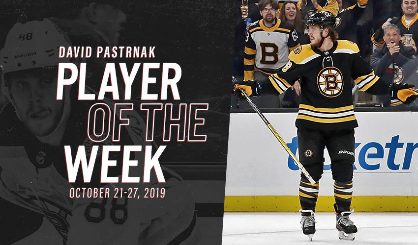 Player of the Week | David Pastrnak