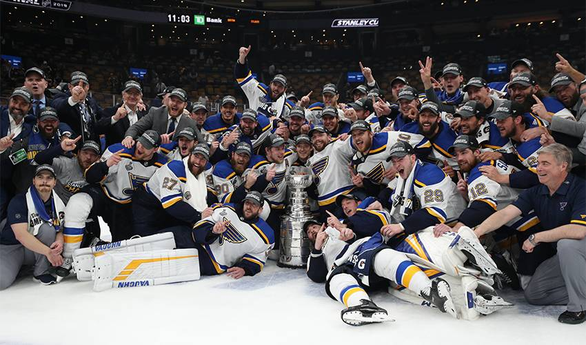 St. Louis Blues win first Stanley Cup