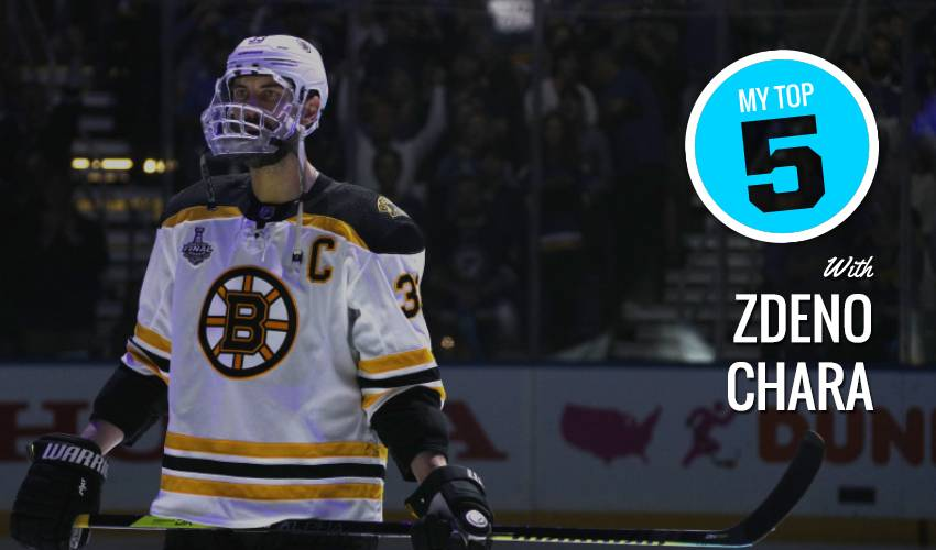 My Top 5 | Zdeno Chara