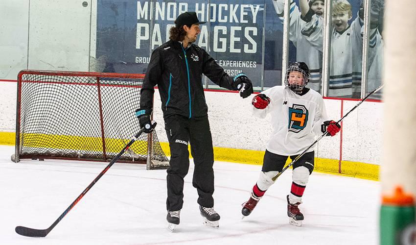 Dillon, BD4 hockey camp teaching more than a game