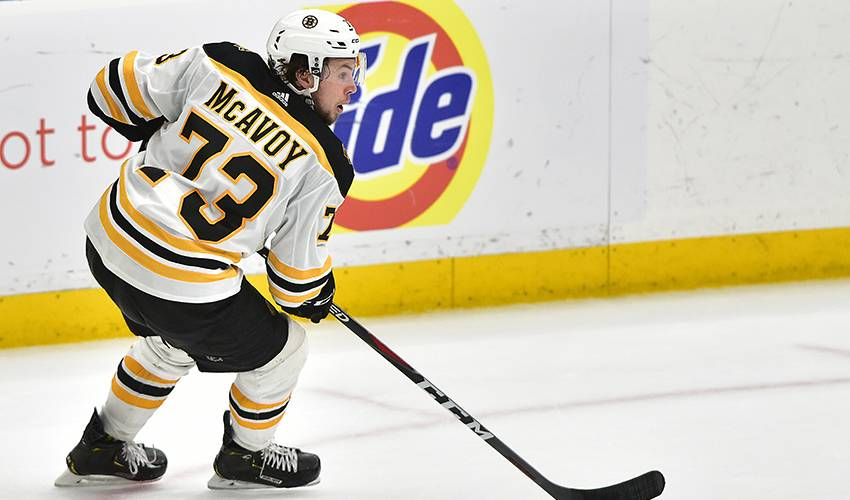 Bruins sign D McAvoy to 3-year, $14.7 million deal