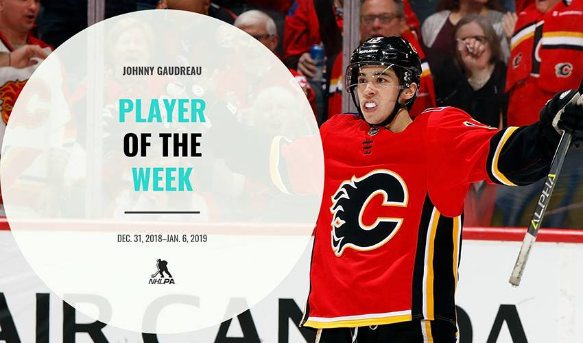 Player of the Week | Johnny Gaudreau