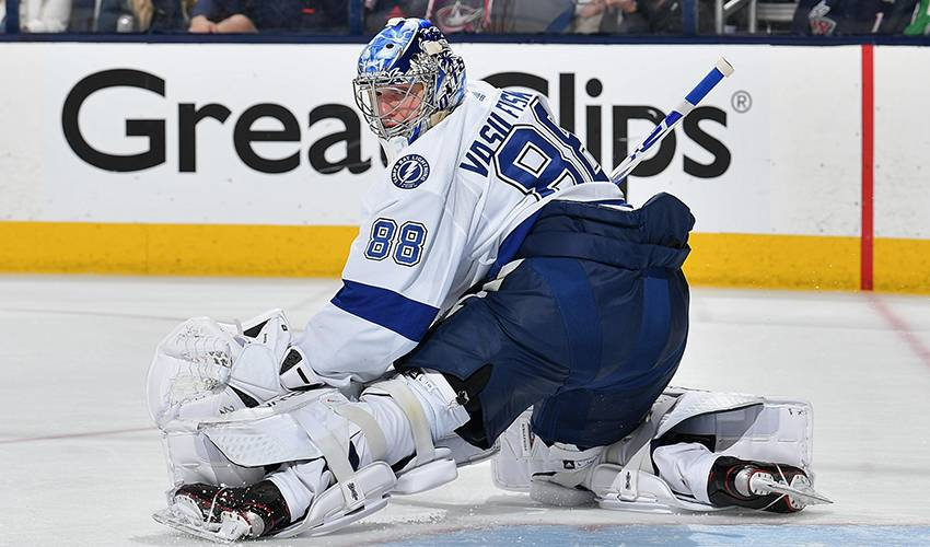 Lightning give Vasilevskiy 8-year, $76 million extension