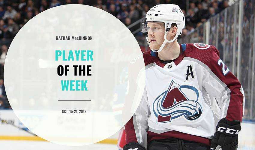Player of the Week | Nathan MacKinnon