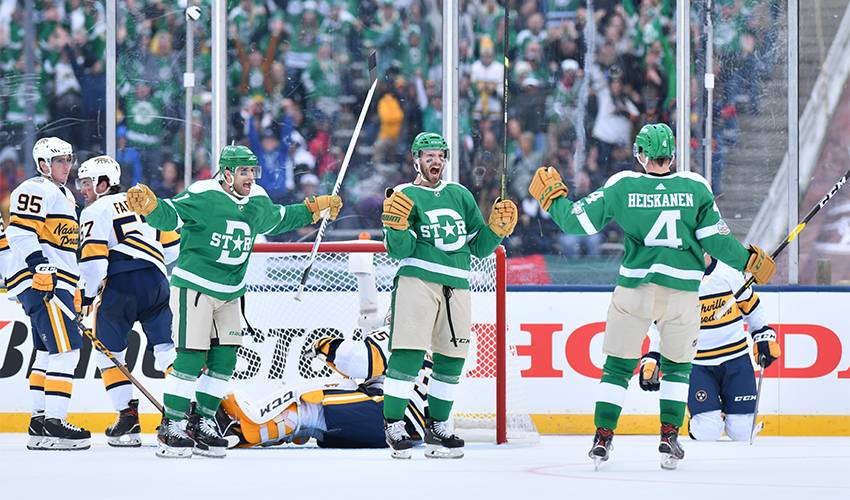 Stars rally to give Cotton Bowl crowd a thrilling Winter Classic win