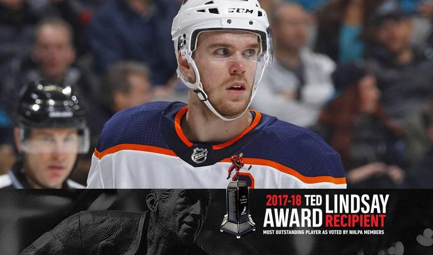Connor McDavid earns 2017-18 Ted Lindsay Award