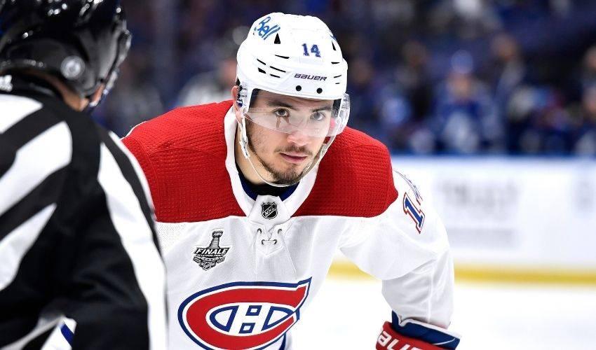 Canadiens sign forward Suzuki to eight-year extension worth $63 million