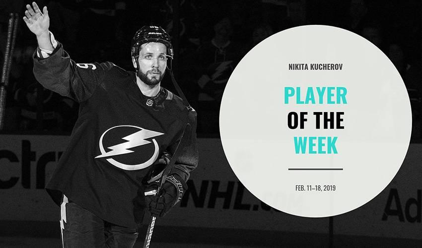 Player of the Week | Nikita Kucherov