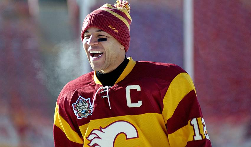 Jarome Iginla set to have number retired by Calgary Flames