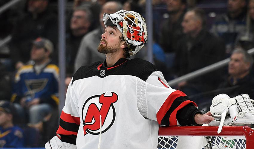 Devils trade Kinkaid to Blue Jackets for 5th-round pick
