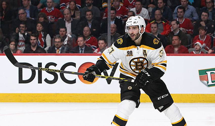 Patrice Bergeron: A Star On and Off the Ice
