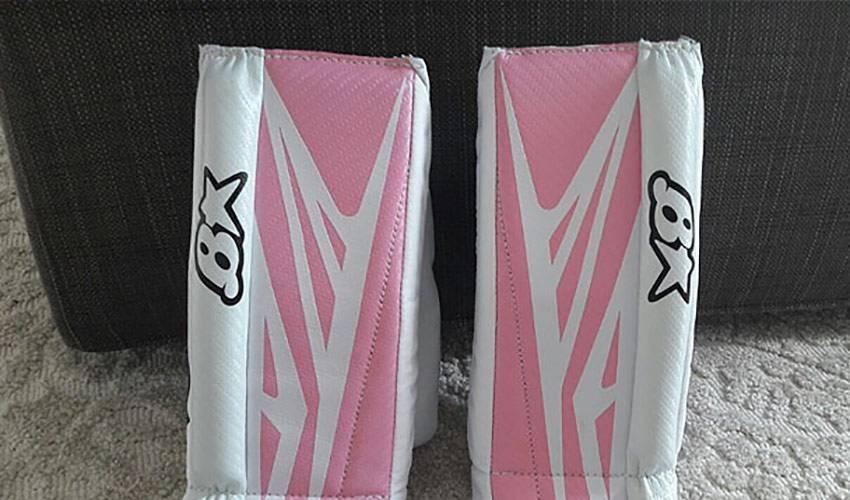 Antti Raanta Had Custom Goalie Pads Made for his Newborn Girl