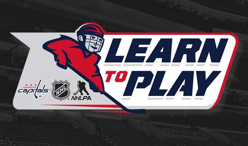 Registration Now Open for NHL/NHLPA Capitals Learn to Play Program