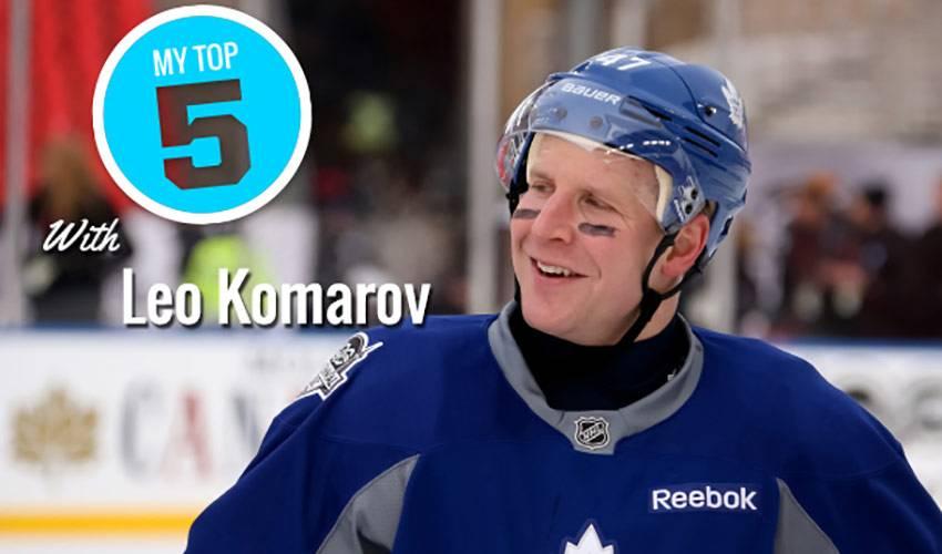 My Top 5 | Leo Komarov