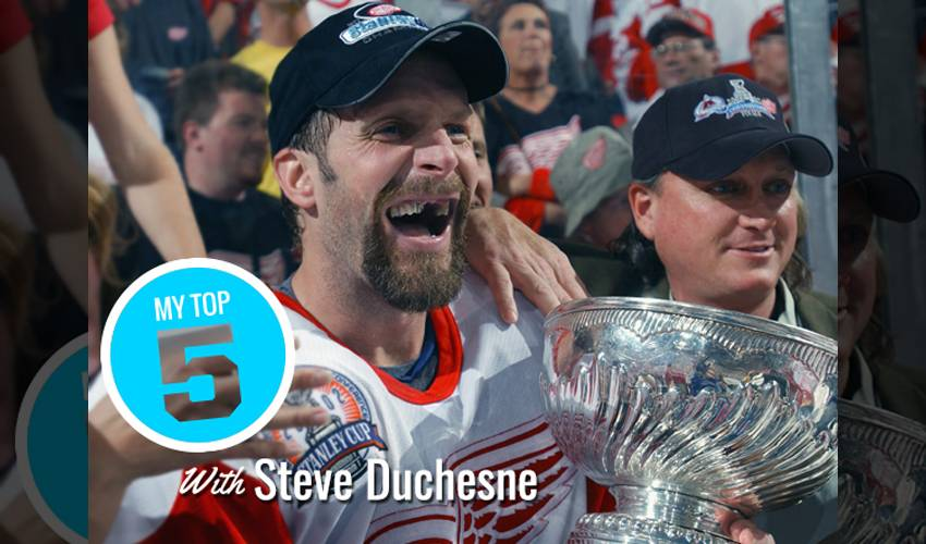 My Top 5 | Steve Duchesne