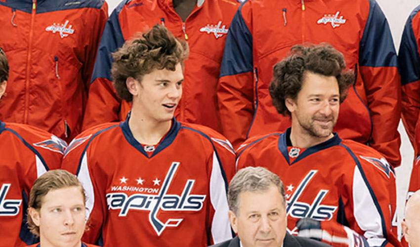 Williams and Burakovsky Do Their Best  Step Brothers  Impression ... afc2f4550ca